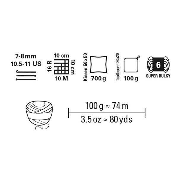 Cotton Jersey, 100 g | Schachenmayr (00036)