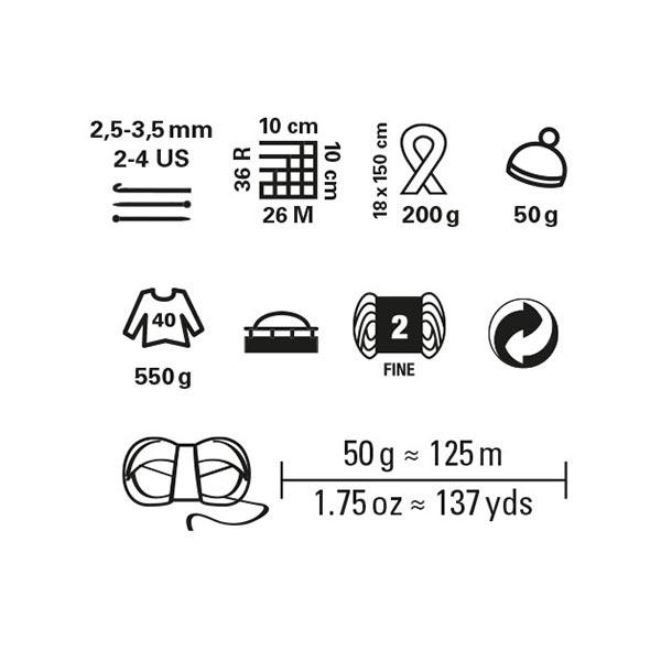 Summer Ombre, 50 g   Schachenmayr (00085)