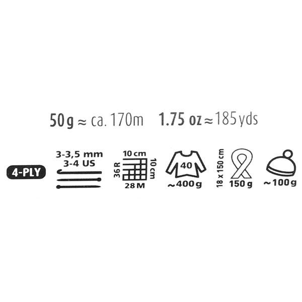 170 Merino Extrafine, 50 g   Schachenmayr (0020)