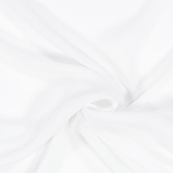 Seidenchiffon – weiss