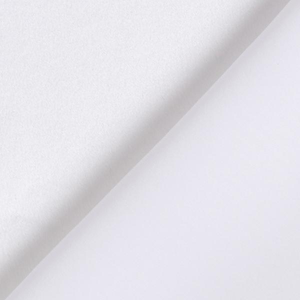 Satin de soie – blanc