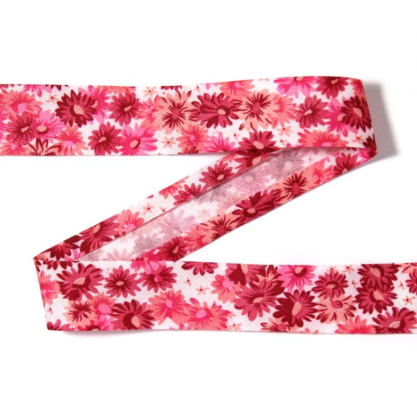 3 m biais fleurs 1