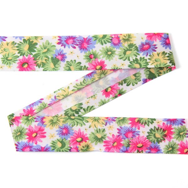 3 m biais fleurs 3