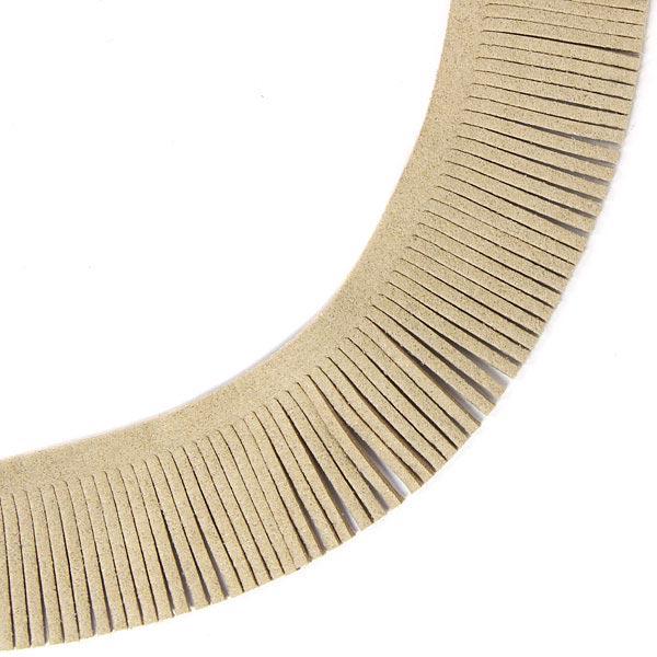 Frange en imitation daim - 3 cm, 2