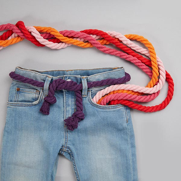 Cordon en coton [Ø 14 mm] 11 - rouge