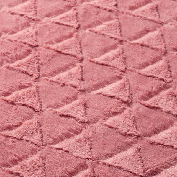Ourson Triangles – vieux rose