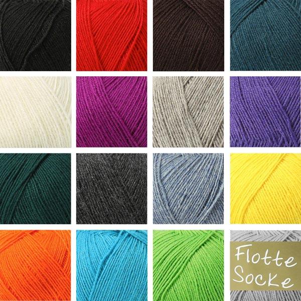 Flotte Socke 4f uni | Rellana, 100 g (0991)