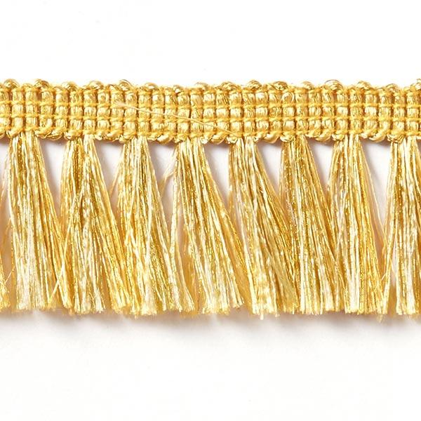 Frange métallisée [28 mm] - doré