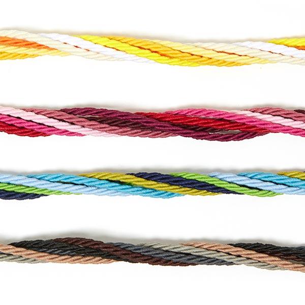 Cordon polyester, Mini bobine [2mx Ø 3mm]   10 – rouge