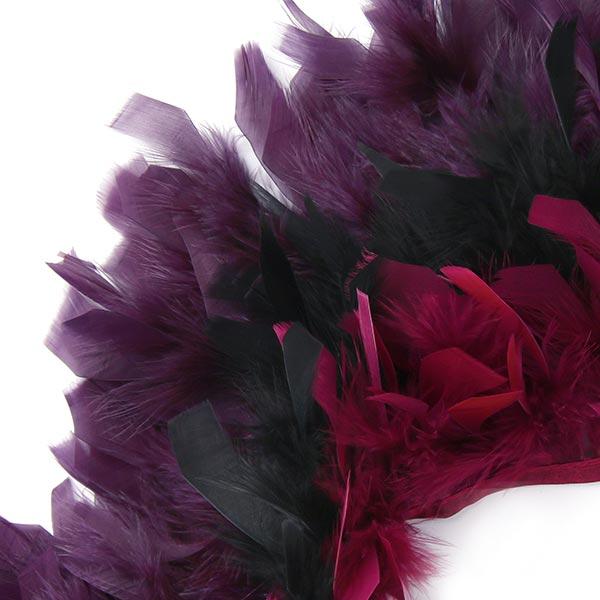 Federborte Couture - schwarz