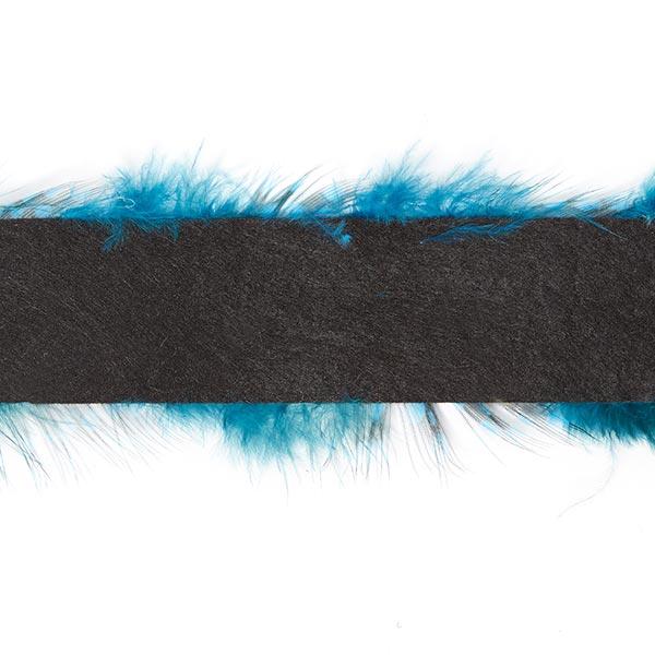 Galon à plumes «Stella»   6 - turquoise
