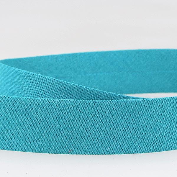Biais  [Largeur : 27 mm ] – turquoise