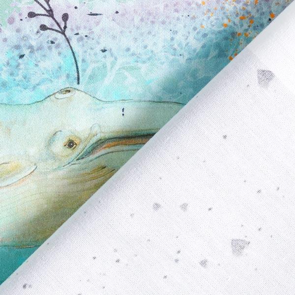 Bio Popeline coton Panel Kit masques pour adultes | Lillestoff – blanc