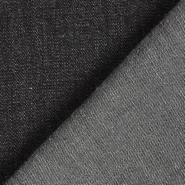 Tissu de chemisier coton Chiné – noir