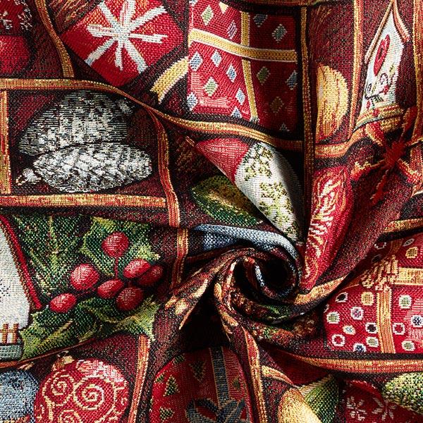 Dekostoff Gobelin Weihnachtsgeschenke