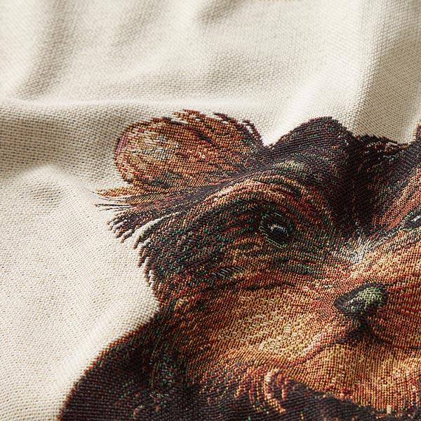 Tissu de décoration pièce Gobelin Chien – beige