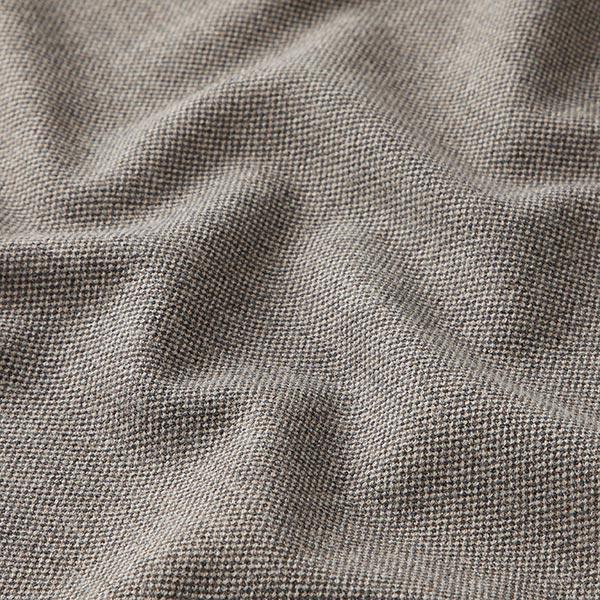 Tissus pour costumes et tailleurs Mélange viscose Poivre & sel – marron foncé