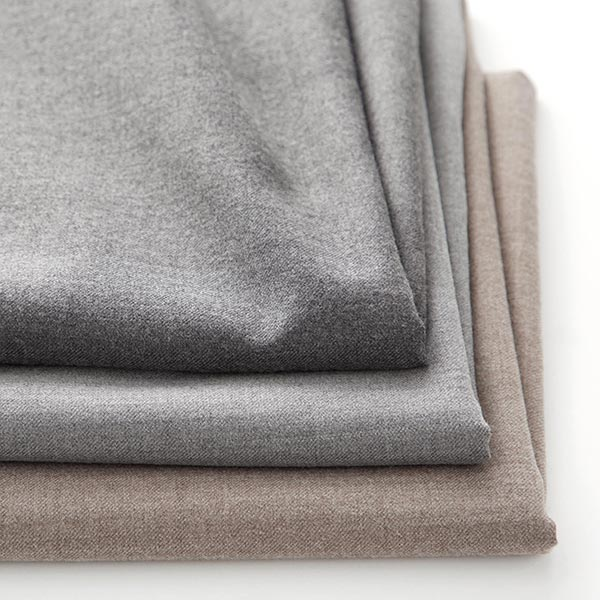 Tissu pour pantalon et costume Mélange de laine Oskar – anthracite