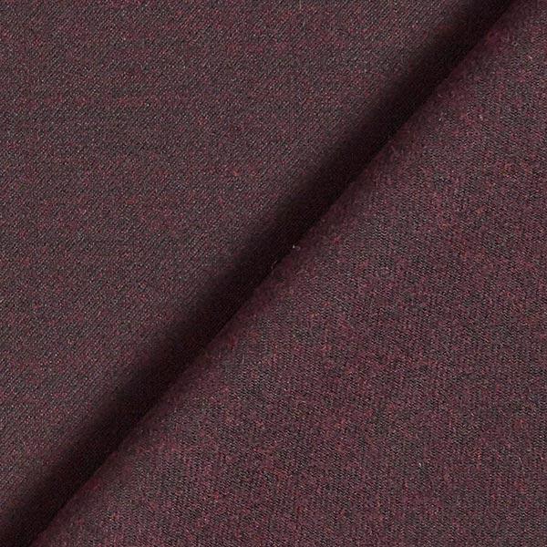 Tissu pour pantalon et costume Mélange de laine Celia – rouge bordeaux