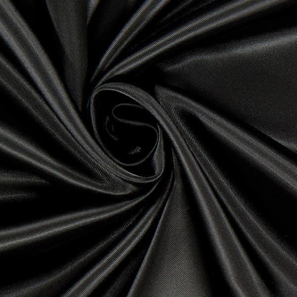 Doublure satin Duchesse Royal Neva'viscon – noir