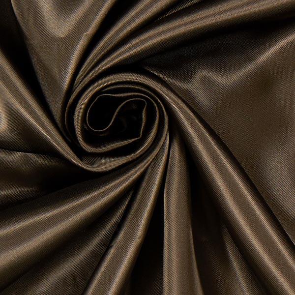 Doublure satin Duchesse Royal Neva'viscon – chocolat