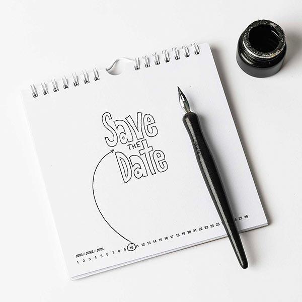 stayhome Set Handlettering | Rico Design