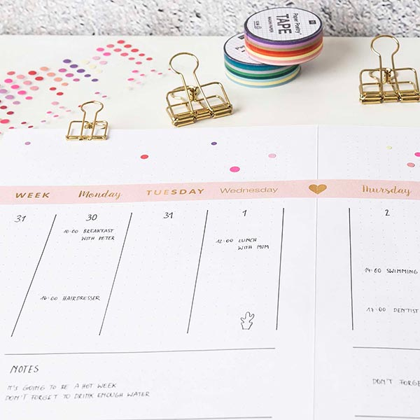 stayhome Set Bullet Journal | Rico Design
