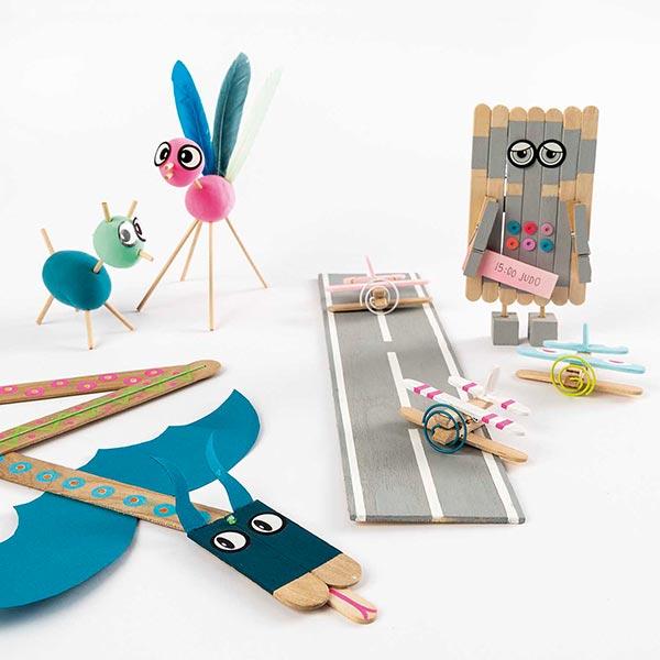 stayhome Set Kit de bricolage pour enfants | Rico Design