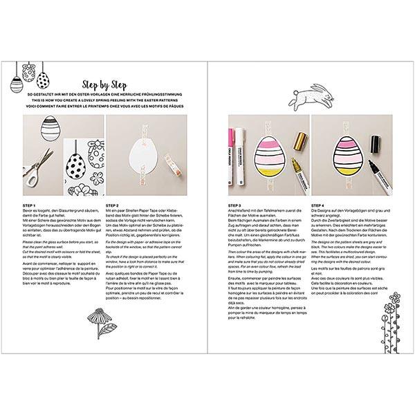 stayhome Set Décorer des fenêtres (+ Spécial Pâques)| Rico Design