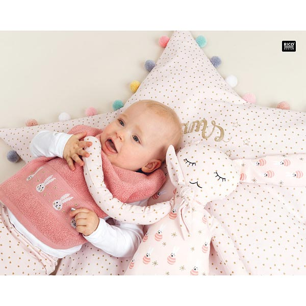 Kit couture Peluche Lapin | RICO DESIGN – rose clair