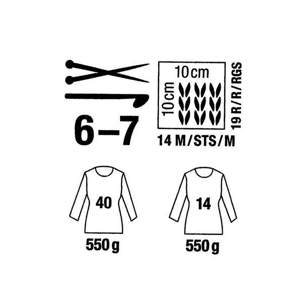 Creative Melange Chunky   Rico Design, 50 g (050)