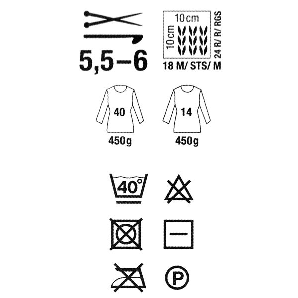 Fashion Metallisé Aran | Rico Design, 50 g (001)
