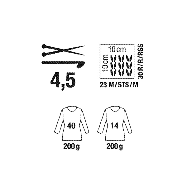 Essentials Super Kid Mohair Silk | Rico Design, 001