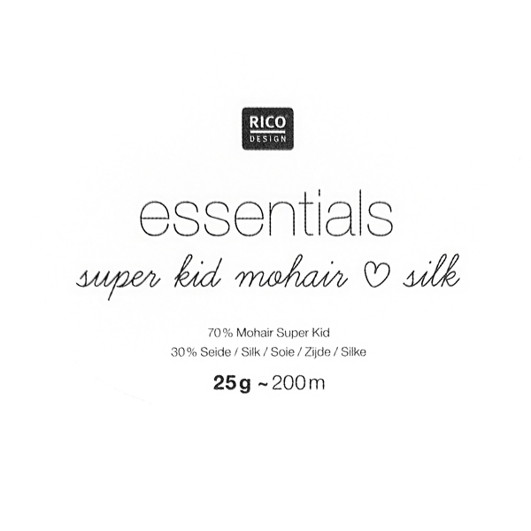 Essentials Super Kid Mohair Silk | Rico Design, 003