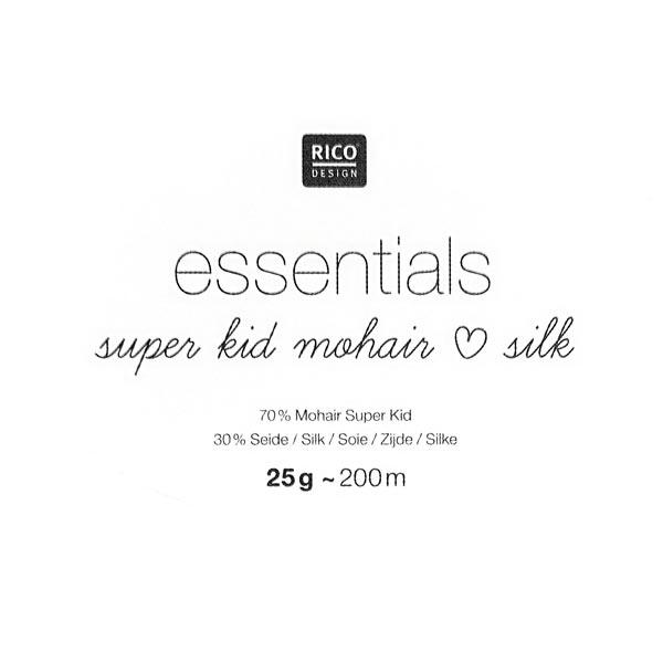 Essentials Super Kid Mohair Silk | Rico Design, 008
