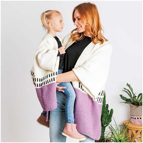 Essentials Mega Wool chunky   Rico Design – mauve