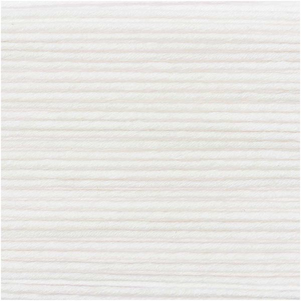 Essentials Organic Cotton aran, 50g   Rico Design (001)