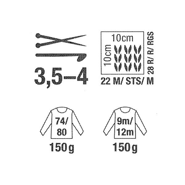 Baby Cotton Soft | Rico Design (018)