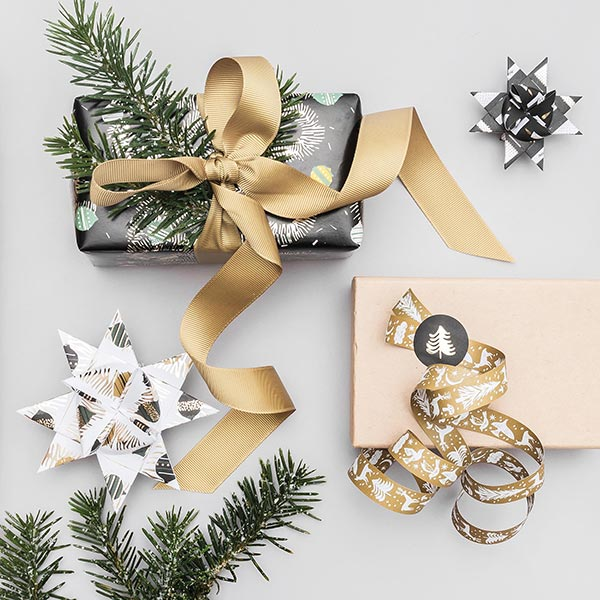 Étoiles Fröbel Nostalgic Christmas | Rico Design – noir/blanc