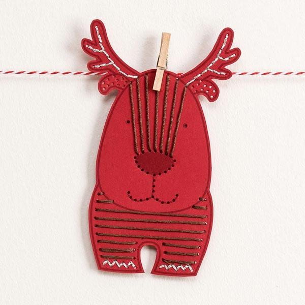 Bloc de piquage Noël - couleurs | Rico Design