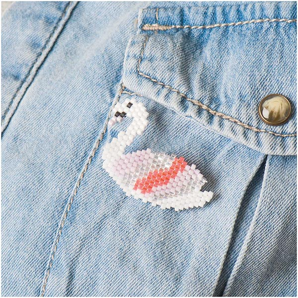 Itoshii Perles Tube Opaque | RICO DESIGN - rouge bordeaux