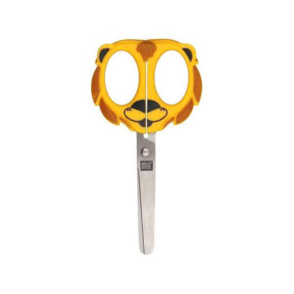 Ciseaux pour enfant, Lion – jaune | Rico Design