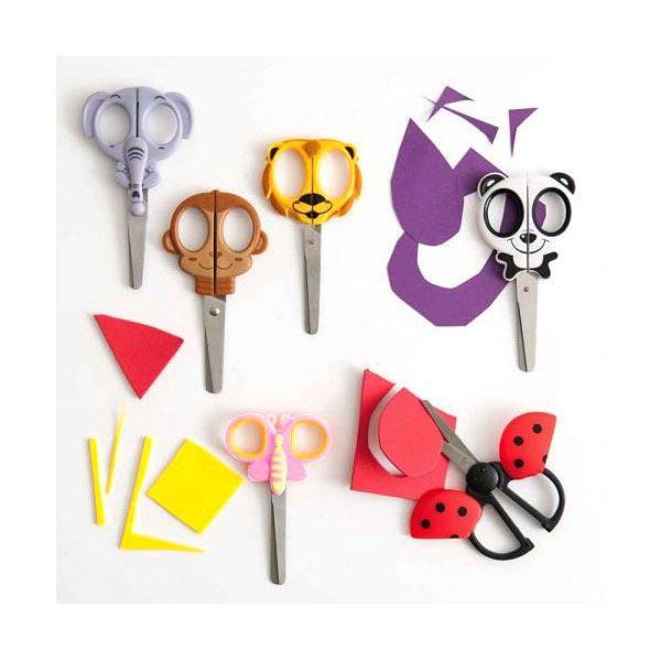 Kindermotivschere Schmetterling, rosa, Rico Design
