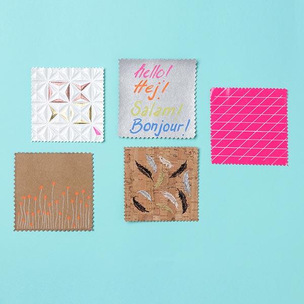 Set de marqueurs de peinture [0,8 mm] | Rico Design
