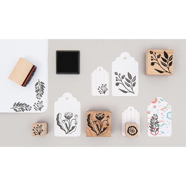 Set de tampons Romantic Flowers | Rico Design