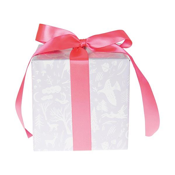 Papier cadeaux Forêt d'hiver | Rico Design – mauve
