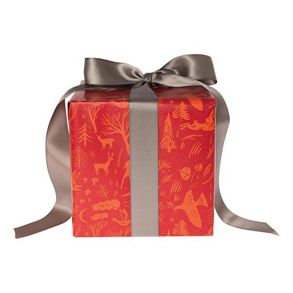 Papier cadeaux Forêt d'hiver | Rico Design – rouge
