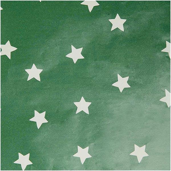 Papier cadeaux Étoiles | Rico Design – vert