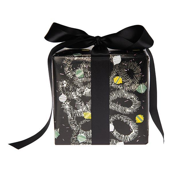 Papier cadeau Décoration de sapin | Rico Design – noir