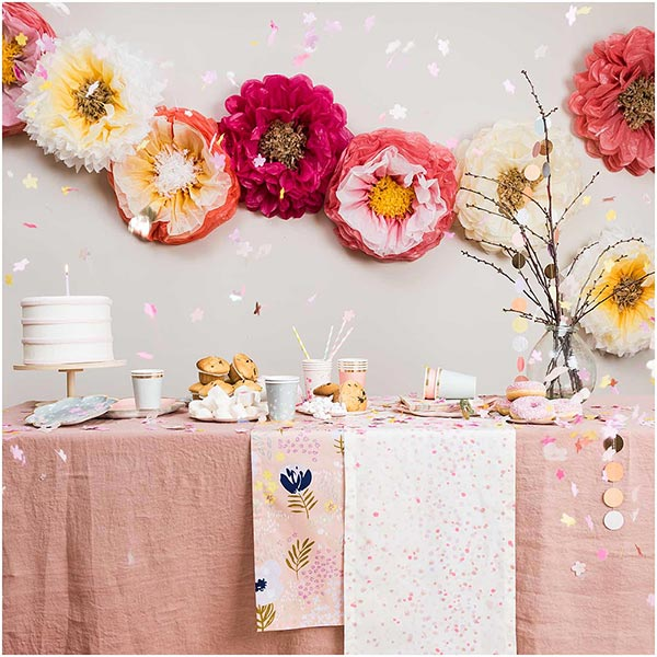 Let's Party! Seidenpapierblumen   Rico Design – rosa/pink